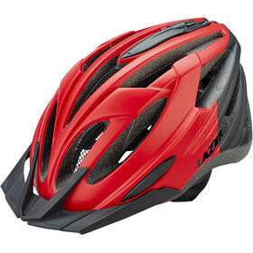 Lazer Vandal Fietshelm, matte red/black